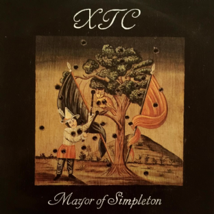 "XTC - Mayor Of Simpleton (12"") (VG-EX/EX)"